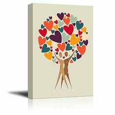 Wall26 - Canvas Prints Wall Art - Diversity Tree of Love ... https://www.amazon.com/dp/B01LCSQLA6/ref=cm_sw_r_pi_dp_x_VfxHyb96YZ2HY