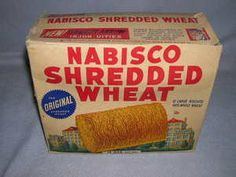 Original Shredded Wheat- Pa would pour hot water over them, then drain off and we would have a hot cereal breakfast - yummy Photo Vintage, Vintage Ads, Vintage Food, My Childhood Memories, Sweet Memories, Shredded Wheat Cereal, Remembering Mom, I Remember When, Oldies But Goodies