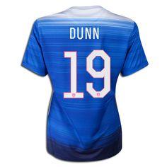 2015 FIFA Women s World Cup USA Crystal Dunn 19 Women Away Soccer Jersey  Usa National Team 4a1c00421