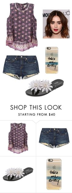 """Untitled #92"" by vic-valdez on Polyvore featuring beauty, Sea, New York, rag & bone/JEAN, Melissa and Casetify"