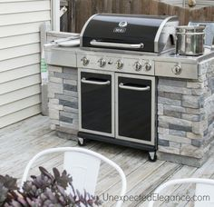 """Find out additional info on """"built in grill diy"""". Take a look at our internet site. Grill Diy, Patio Grill, Grill Area, Bbq Area, Backyard Patio, Bbq Diy, Backyard Kitchen, Pallet Patio, Patio Bench"""