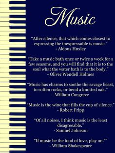 beautiful music quotes