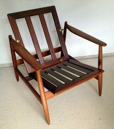 Poul Volther Model 340 lounge chair  for Frem Rojle Teak, Sessel danish (1) de.picclick.com