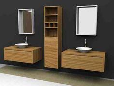 Muebles elegantes para el baño