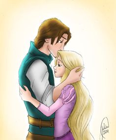 Tangled! Rapunzel & Flynn!