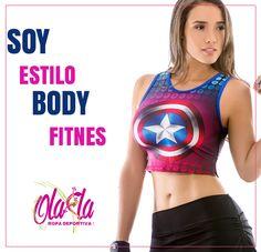 PROXIMAMENTE nuestra nueva colección Body Fitness... + Fuerte + Fitness + OLA-LA ropa deportiva,... Para que saques esa heroína que llevas dentro !!!  http://www.ola-laropadeportiva.com  #Ecommerce #Online #Body #Fitness #Crossfit #Ropadeportiva