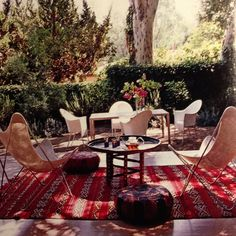 Outdoor rug, Elle Decor