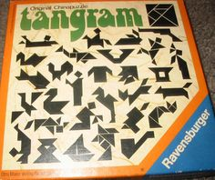 Things of the past ( 70's, 80's, 90's ) - Dingen van vroeger ( 70's, 80's, 90's ) ( Tangram )
