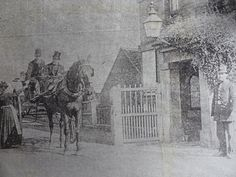 The Last Toll being paid on Stourport Bridge, the Building to the right was the Police Station and the Toll collector had a small booth to shelter in on the left of the gate, the photos from 1890 x photo from the civic society archives x Old Photographs, Old Photos, Vintage Photos, Police Station, Back In The Day, Bridge, Toll House, England Uk, Shelter