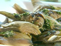 Grilled Artichokes with Parsley and Garlic Recipe : Giada De Laurentiis : Recipes : Food Network