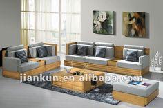 Resultado de imagem para sofa de madeira