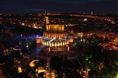 Behance :: Yerevan city at night by Suren Manvelyan