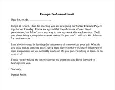 Formal E Mail Template Lovely Free 7 Sample Professional Emails In Pdf Id Card Template, Order Form Template, Program Template, Professional Email Format, Business Emails, Wedding Humor, Ways To Save, Sample Resume, Presentation