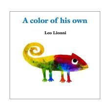 """a color of his own""  with art project    ***this site has lots of great art ideas to go along with different books for elementary students!***"