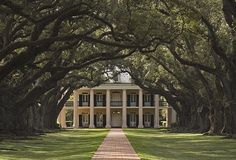 Oak Alley, Vacherie, Louisiana (c.1837-1839). I just died!  I NEED TO LIVE HERE!!!!