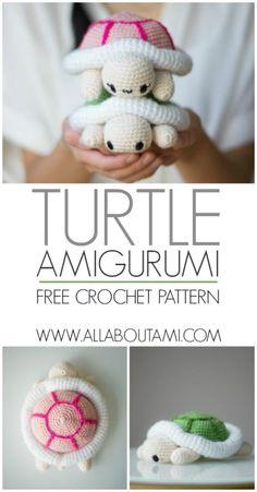 Crochet Amigurumi Turtle
