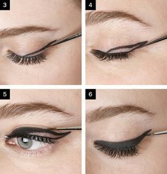 10 PCS Wing Eyeliner Template Stencil Eye Makeup | Winged eyeliner ...
