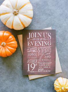 #Invitations to a Halloween Birthday Bash  Read more - http://www.stylemepretty.com/living/2013/10/31/halloween-birthday-bash/