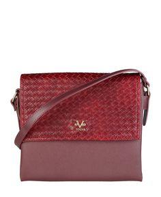 Versace 1969 abbigliamento sportivo srl milano italia - borsa tracolla - materiale: eco - pelle - un manico - chiusura m - Borsa a tracolla donna  Rosso