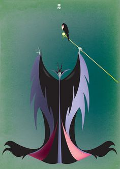 Maleficent Mistress of All Evil by PO!!, via Flickr
