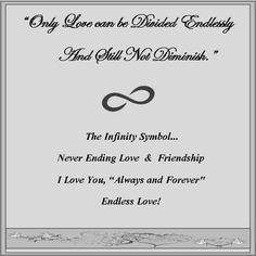 Meaning of Infinity Symbol | infinity jewelry,infinity bracelet,infinity symbol,forever,love ...