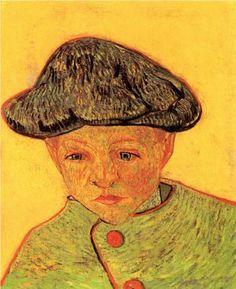 Portrait of Camille Roulin - Vincent van Gogh
