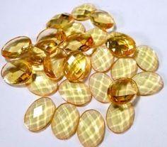 Chaton oval 15mm laranja