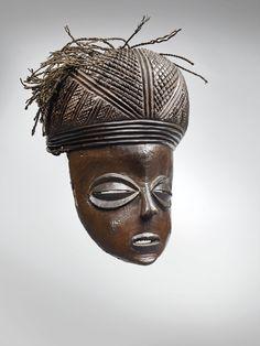 Portrait, Buddha, Africa, Auction, Statue, Art, Female Mask, Almond Eyes, Art Background