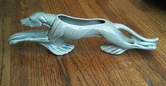 Royal Haeger Greyhound Planter; Mid Century Modern  I found this years ago in an antique store.  It's really cool!