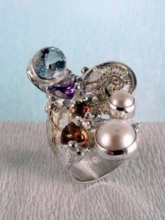 RT or Repin gregory pyra piro new work for sale  band #ring 2050 #sterling #silver and solid #gold, #handmade original