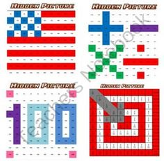 Hidden Picture Math worksheets. Find lots of fun math products at my teachersnotebook.com store.  Thanks, and enjoy!