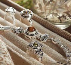 Silver Lotti Dottie bracelet & rings Lottie Dottie, Ring Bracelet, Bracelets, Jewelry Findings, Fashion Accessories, Girly, Ginger Snaps, My Style, Magnolia
