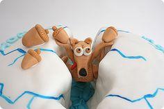Cute Ice Age Cake