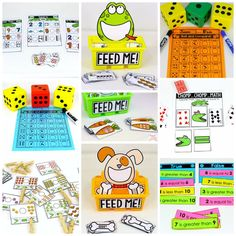 Kindergarten, Kindergarten math, comparing numbers, Counting, numbers, math games, Common Core Math