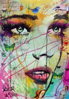 "Saatchi Art Artist Loui Jover; Drawing, ""wild things"" #art"