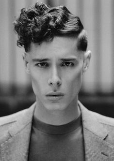 """For Sam I clean cut the sides with a cut throat razor to give it the clean sharp look. To style the top I wet perm set it with small perm r..."