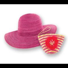28a58a60 Sun Lily Hat-Pink Wild Hearts, Sun Hats For Women, Fashion Accessories,
