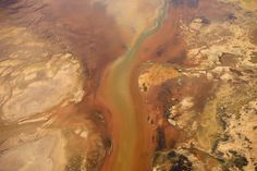 Where the Colorado river meets the Pacific Ocean. Jassen Todorov/Caters News