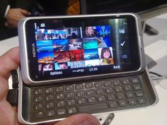 Nokia E7 live from Nokia World     Viettel IDC | Co-location | Dedicated Server | Hosting | Domain | Vps | Email | Cloud Computing ...