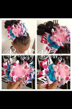 GET IT GIRL HAIR BOWS...BOSSY BOWS