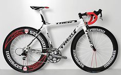 Trek 6 9 SSL Madone Carbon Fiber Road Bike Bicycle 52 cm SRAM Red Oclv | eBay