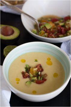 Sweet Corn Soup 2 Ways (+ a Top 10 Best Things in Life List) from @Kris // 80twenty