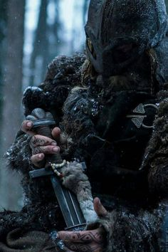 May I find my way to my for father's in the halls of Valhalla. ...