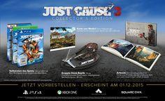 Just Cause 3 - Collectors Edition (exkl. bei Amazon.de) [PS4]: PlayStation 4: Amazon.de: Games