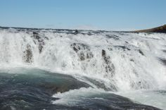 The rapids: Selfoss in Iceland