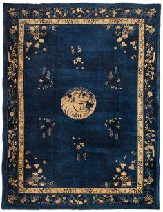 Chinese Peking Rug   #11593