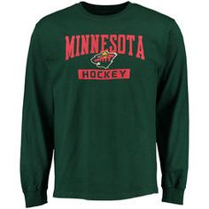 Men's Minnesota Wild Rinkside Green City Pride Long Sleeve T-Shirt