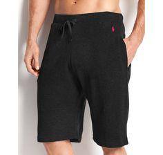 Polo Ralph Lauren Men's Loungewear, Waffle Thermal Shorts