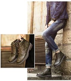 e52c1d6d29c Men s Stylish Leather Boot- Brown