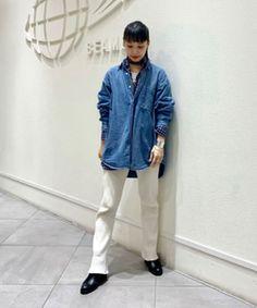 styling_image Beams, Denim, Jackets, Image, Style, Fashion, Down Jackets, Swag, Moda